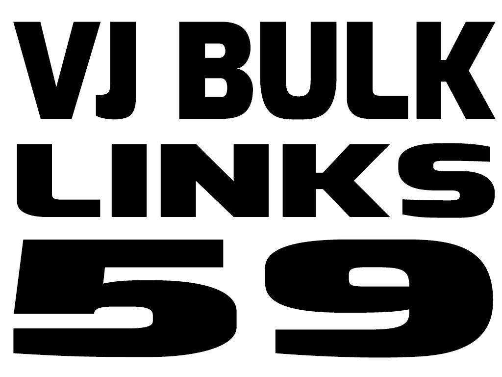 VJ BULK LINKS 59
