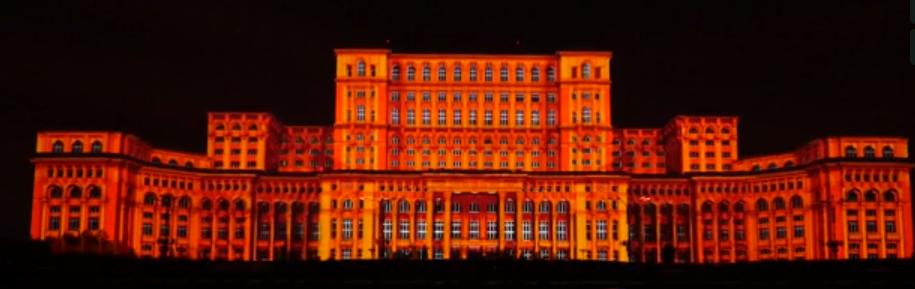 104 videoprojecteurs 20 000 Lumens pour un VideoMapping