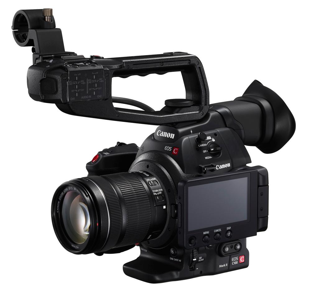 Caméra EOS C100 Mark II