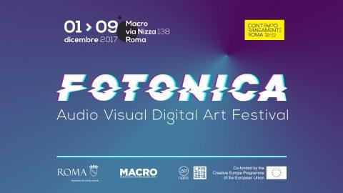 Fotonica 2017 Audio Visual Digital Art Festival