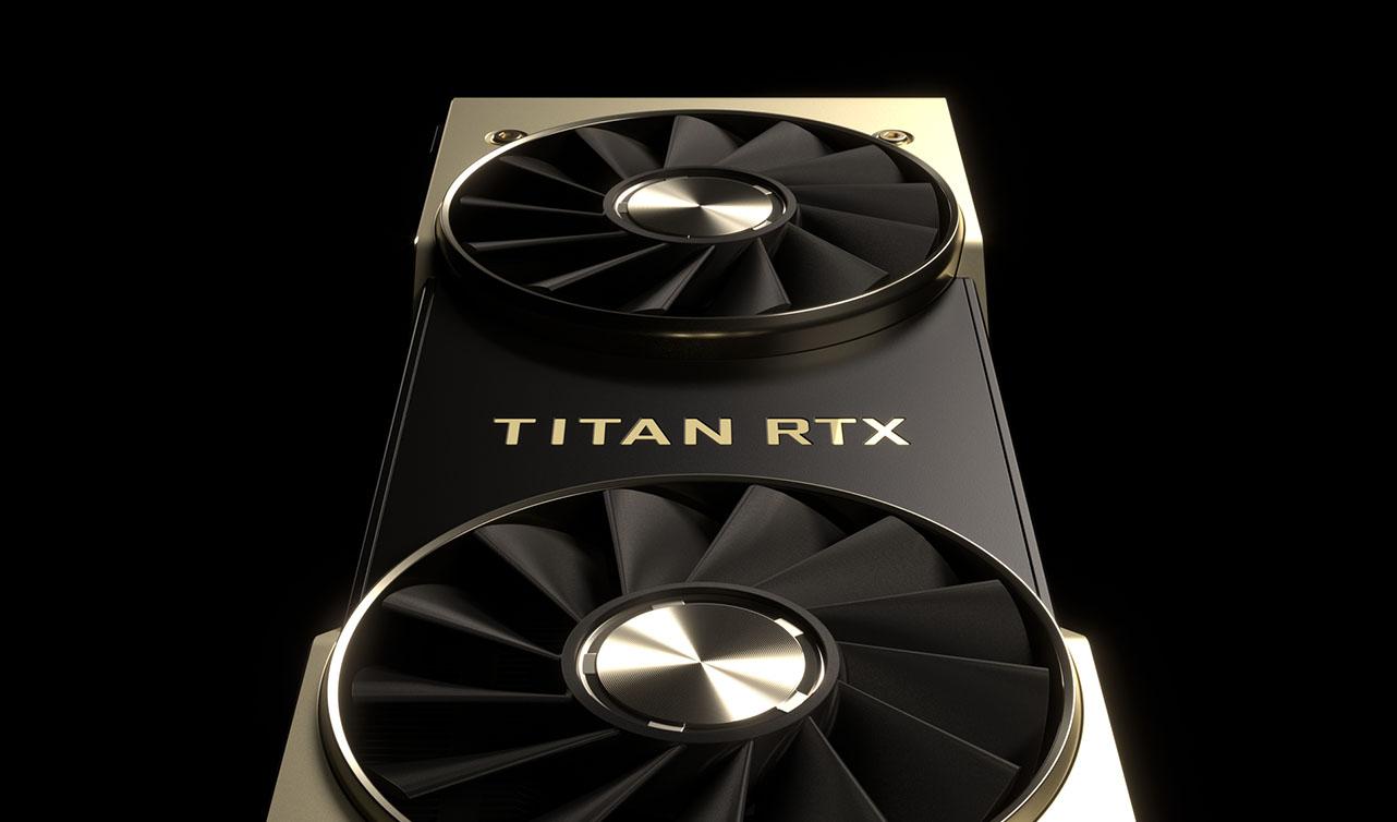 Nvidia Titan RTX qui pique le larfeuille