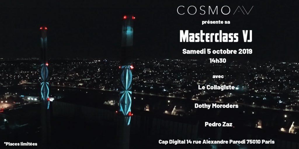Masterclass VJ par CosmoAV