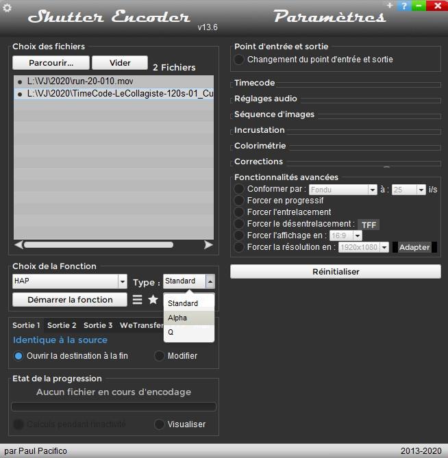 Shutter Encoder